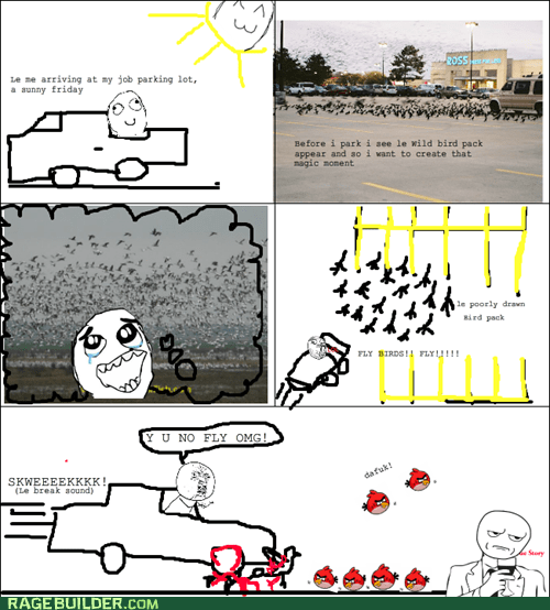 Rage Comics: Dat Friday Morning!