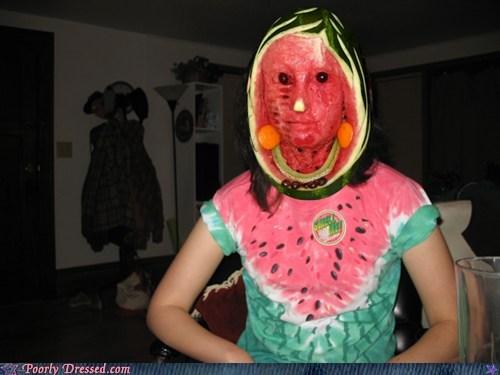 face,fruit,watermelon drums