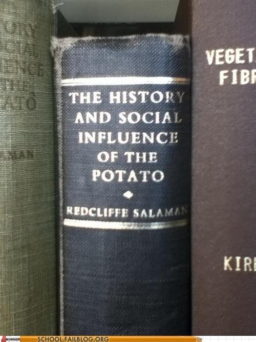 bargain books,page turner,potato