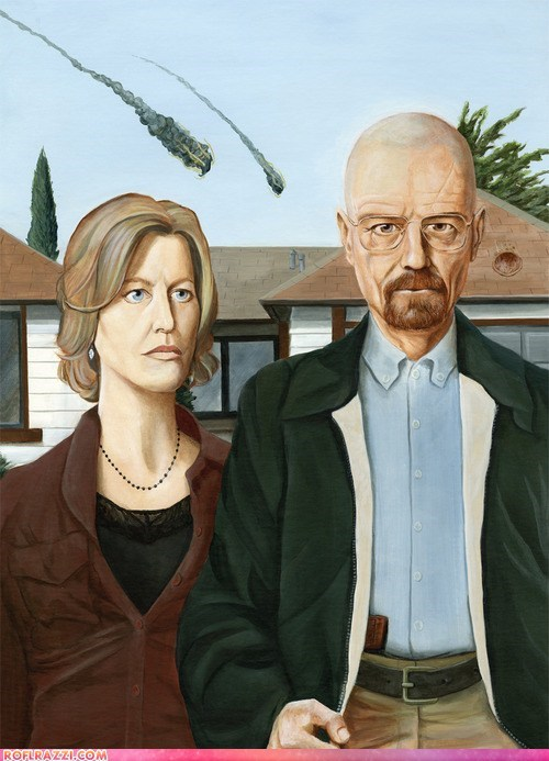 "A ""Breaking Bad"" Tribute to American Gothic"