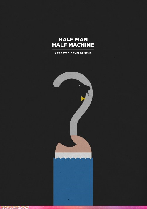 Minimalist Movie Poster: Arrested Development