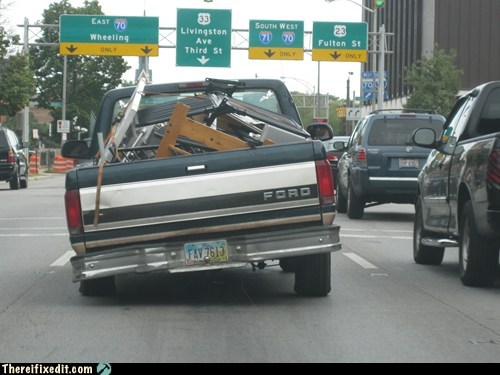ford,hydraulics,pickup truck,truckbed