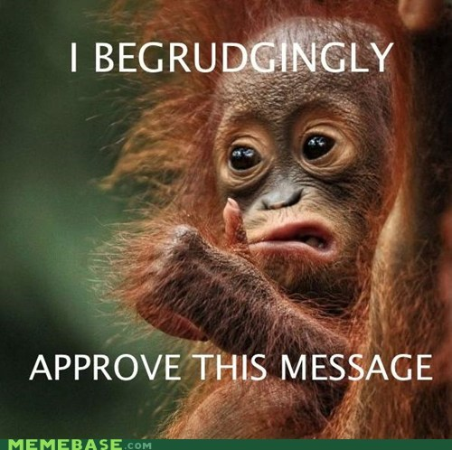 grudge,i approve this message,its-okay,monkey,thumbs up