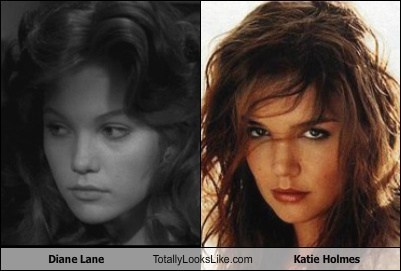 Diane Lane Totally Looks Like Katie Holmes