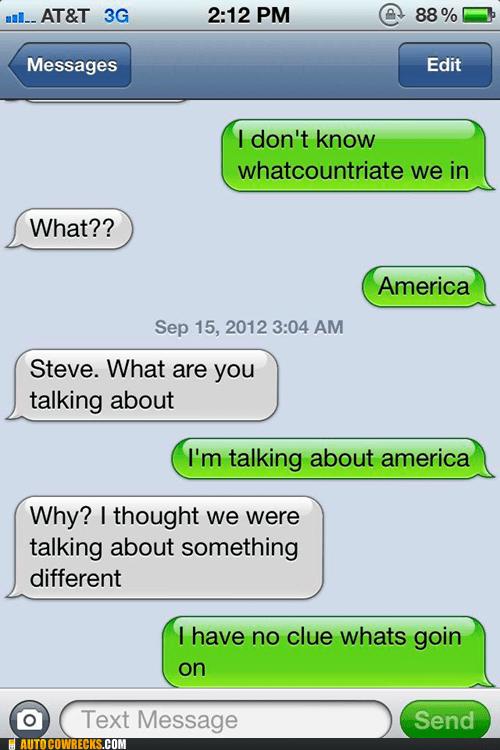 Drunken Patriotism