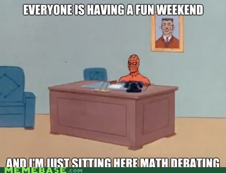 How I Feel Being on My School's Math Team
