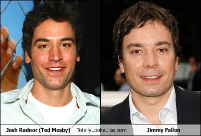 Josh Radnor (Ted Mosby) Totally Looks Like Jimmy Fallon