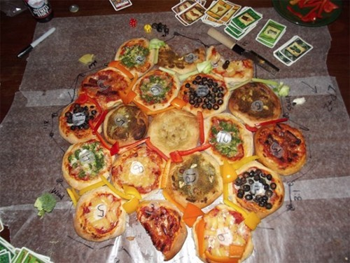 Settlers Of Catan Pizza of the Day
