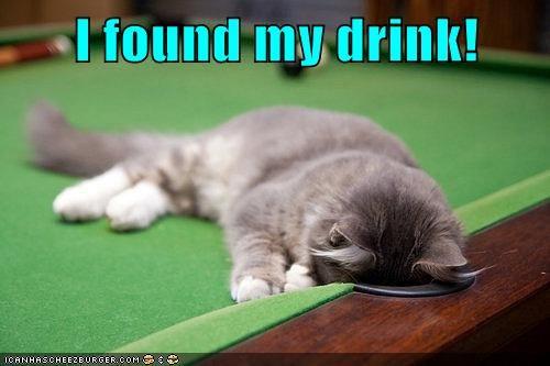 I found my drink!