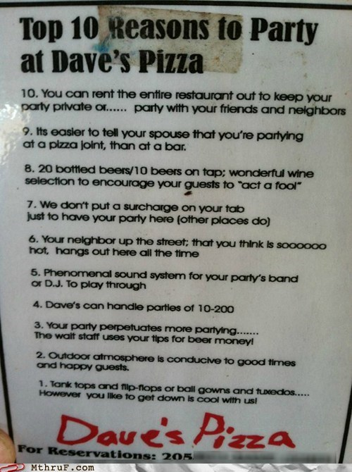daves-pizza,pizza place,workplace win