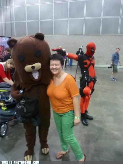 Deadpool is the Best Photobomber