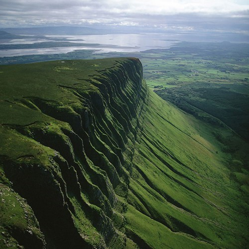 The Slopes at Ben Bulben, Ireland: Very Alive