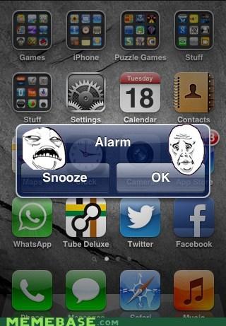 alarm,ok,snooze,wake up