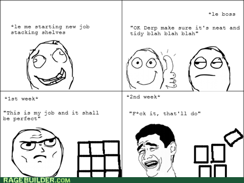 Rage Comics: New Job