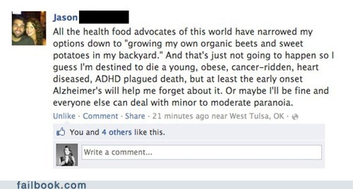 The Health Food Debate