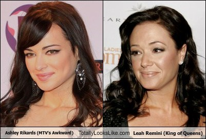 Ashley Rickards (MTV's Awkward) Totally Looks Like Leah Remini (King of Queens)
