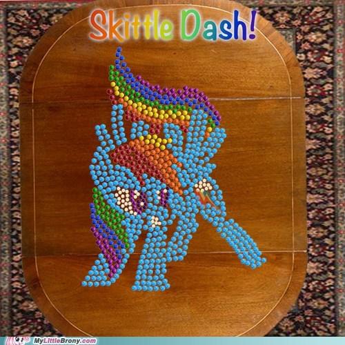 Skittle Dash!