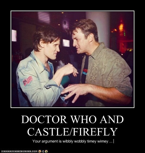 DOCTOR WHO AND CASTLE/FIREFLY