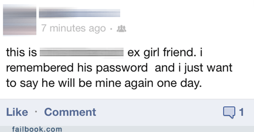 Ex-Girlfriend, Wat R U Doin'?