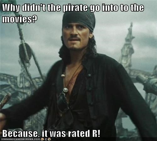 Happy National Talk Like a Pirate Day!