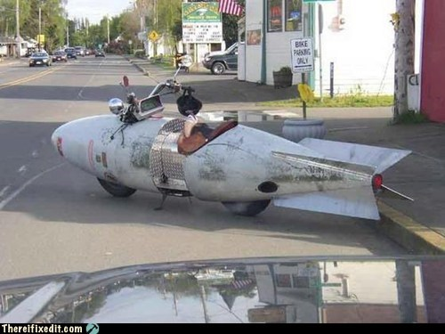 There I Fixed It: My Car is a Missile. Your Argument is Invalid.