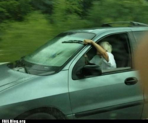 cars,dangerous,driving,elderly drivers,windshield,wiper