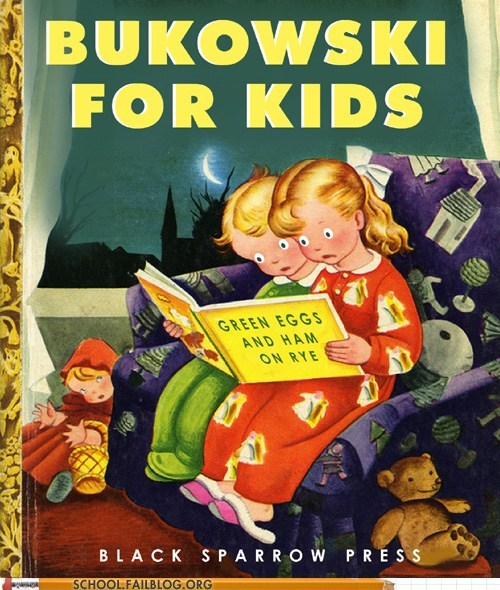 abort,bargain books,black sparrow,bukowski,creepy