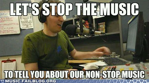 Music FAILS: Scumbag DJ