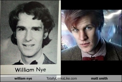 william nye Totally Looks Like matt smith