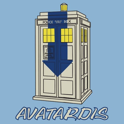 Avatar the Last Airbender,crossover,doctor who,shirt,tardis