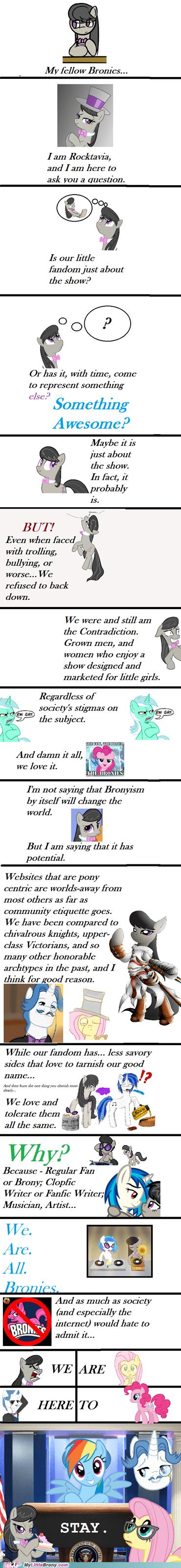 Bronies and Pegasisters....