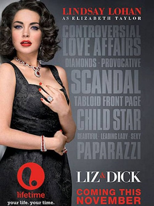 "First Look: ""Liz & Dick"" Movie Poster"