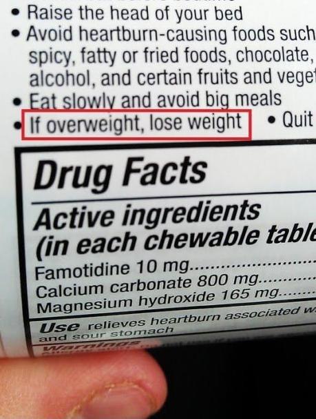 advice,duh,medicine,no duh,obvious,weight loss