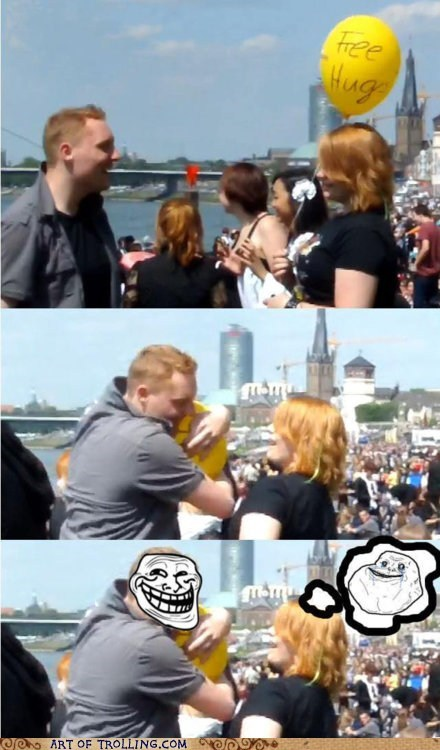 Forever Alone Balloon-Girl