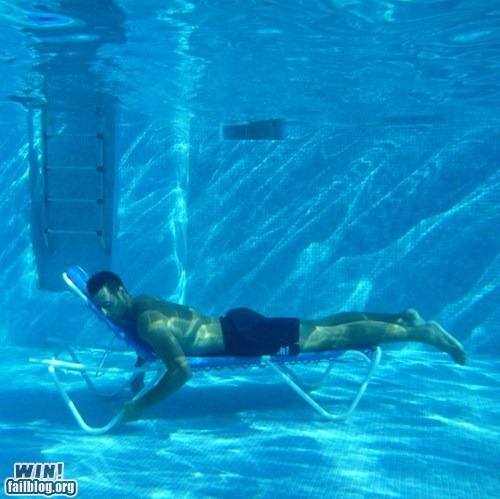 Sun Bathing Underwater WIN