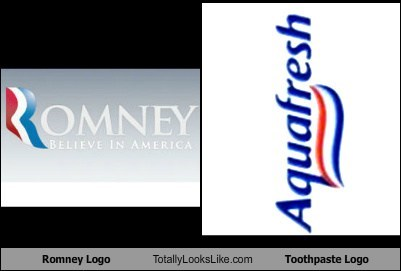 Romney Logo Totally Looks Like Toothpaste Logo