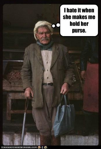 man,old,cane,purse,shopping