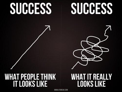 expectation vs reality,line,success