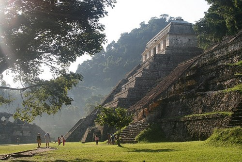 Palenque, One of the Many Amazing Mayan Temples