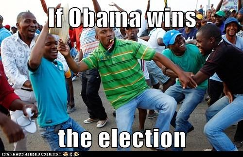 If Obama wins  the election