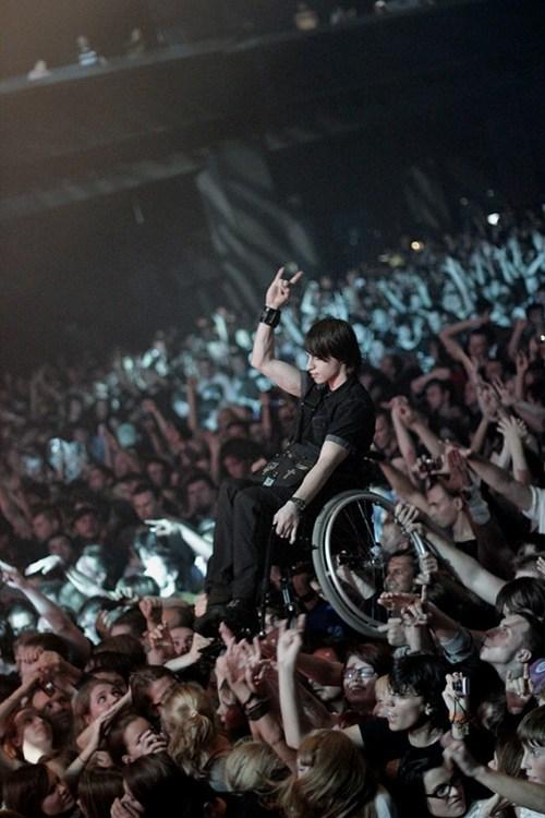 concert,feel good,Heartwarming Tearjerker,metal,Music,solidarity