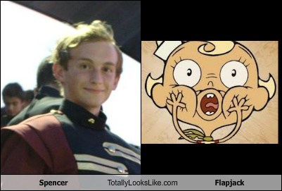 Spencer Totally Looks Like Flapjack