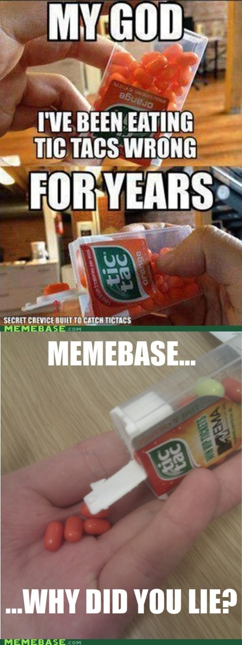 The Tic Tacs are a Lie