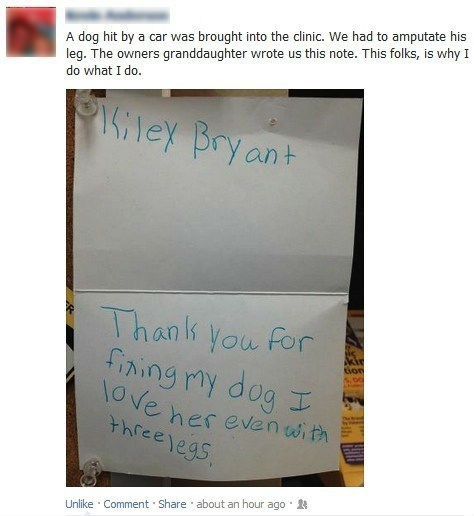 The Daily What: Heartwarming Tearjerker Thank You Note of the Day