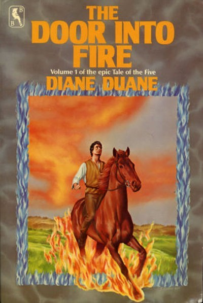 WTF Sci-Fi Book Covers: The Door into Fire