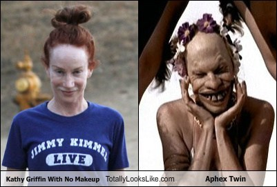 Aphex Twin,celeb,comedian,funny,kathy griffin,Music,TLL