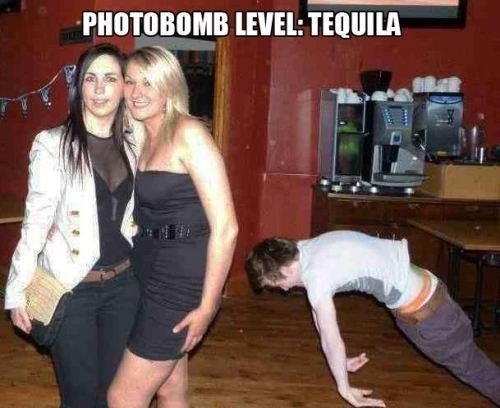 The Best Photobomb Level