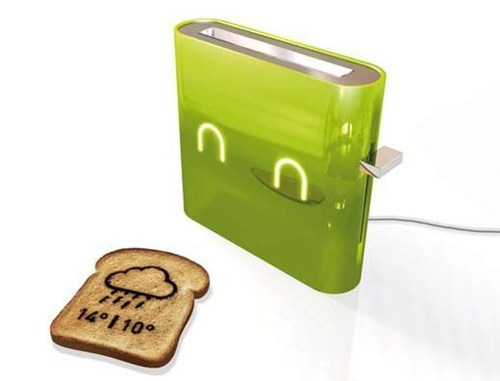 Multitasking Weather Toaster