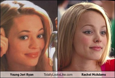 Totally Looks Like: Young Jeri Ryan Totally Looks Like Rachel McAdams