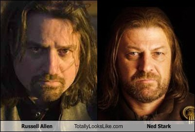 Russell Allen Totally Looks Like Sean Bean (Ned Stark)